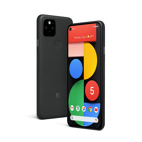 Google Pixel 5 5G手機 8G/128G 純粹黑【快充行電組】