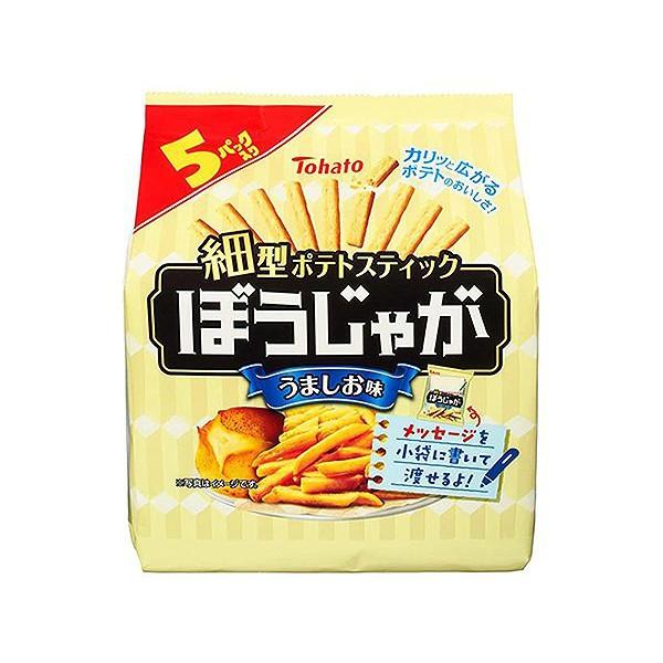 Tohato 東鳩 5袋鹽味洋芋條(85g)【小三美日】 DS001196