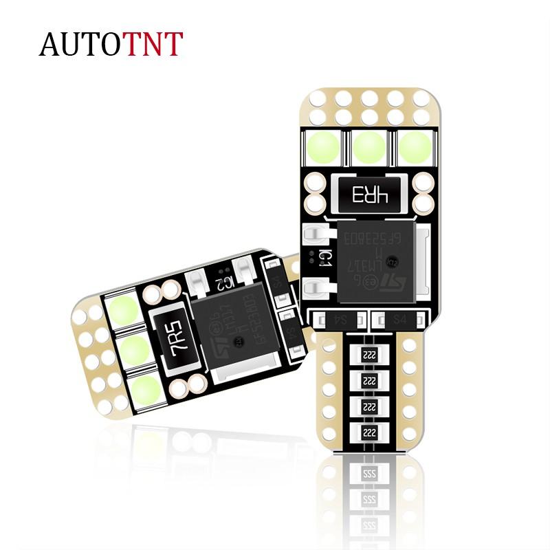 AUTOTN T10 LED 100%解碼 子彈小燈 無極恆流 汽車 示寬燈 12V 車牌燈 牌照燈