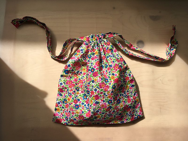 【網路獨家】Bao 義大利的風景花園-純棉束口袋 收口袋 收納袋
