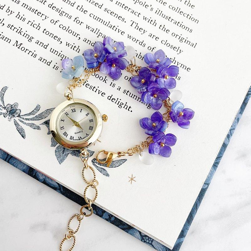 阿黛爾(Adele)繡球手鍊手錶LI152