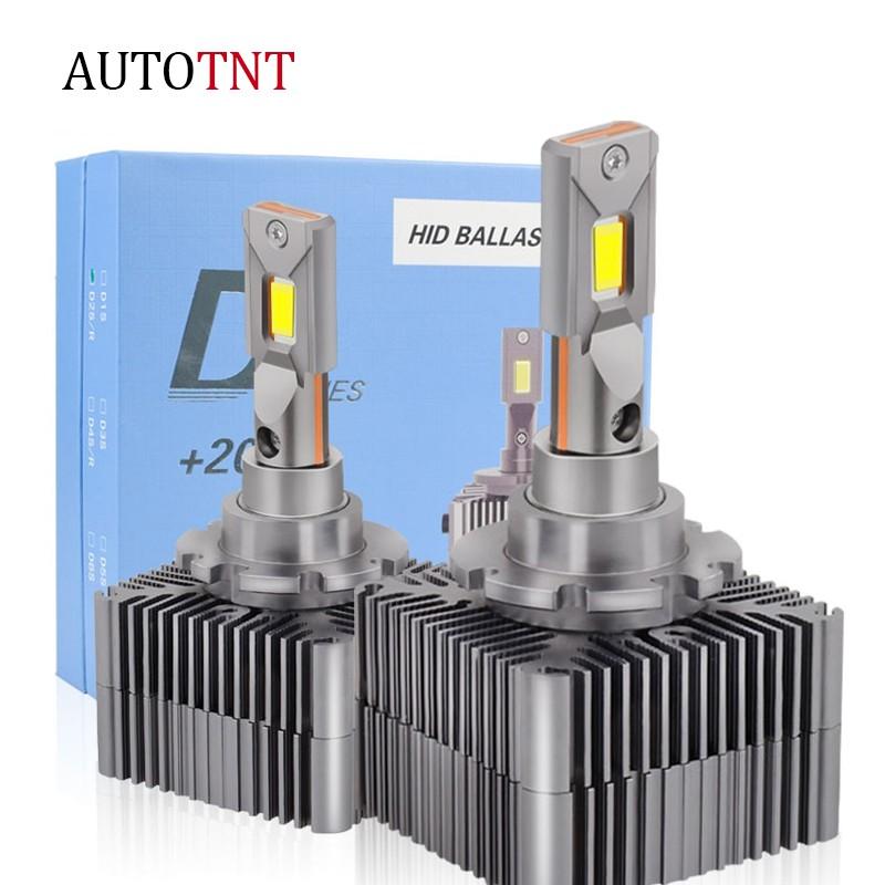 D2S LED 大燈 直插式 D1S D3S D4S 解碼 直接替换HID氙氣燈泡 CANBUS 無損安裝 新款