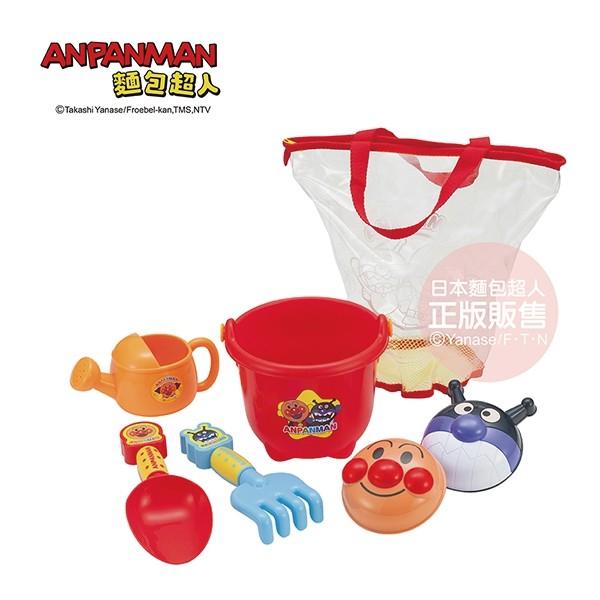 日本 麵包超人繽紛可攜式沙堆組(3歲以上)(4971404316775) 617元