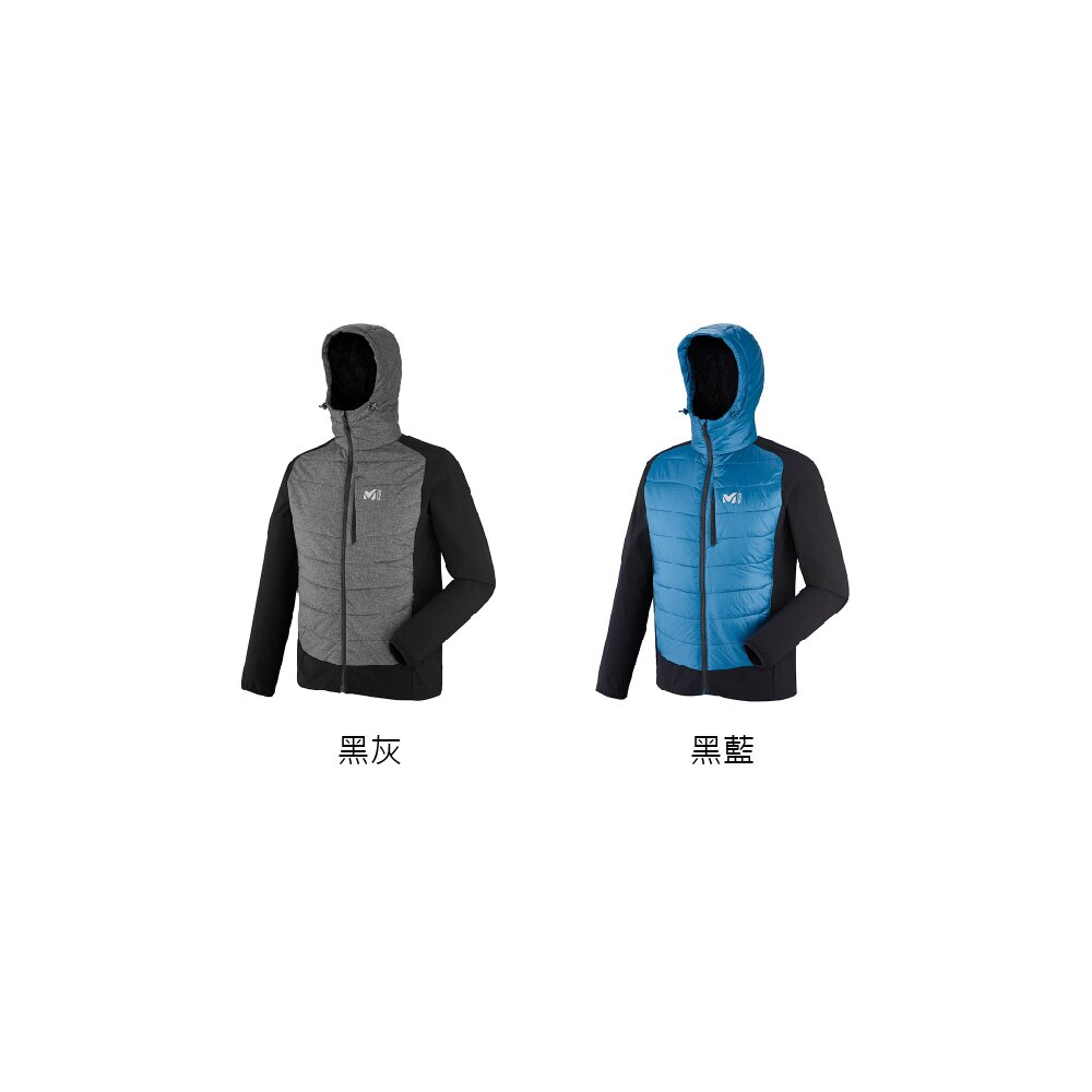 Millet 男 連帽保暖化纖耐磨外套 Primaloft Hybrid Nanga - miv7450