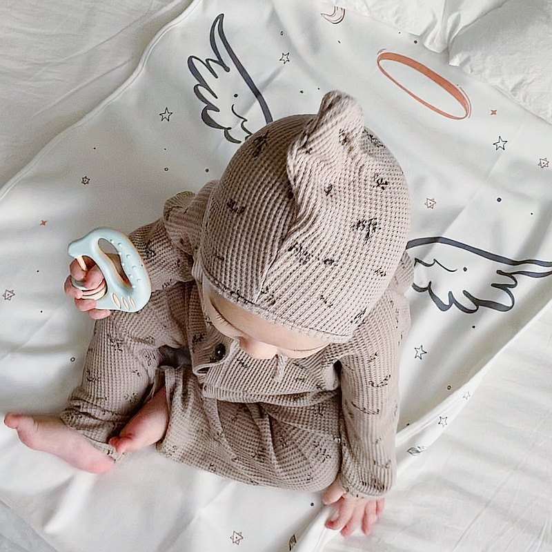 嬰兒童純棉雙面隔尿墊防水可水洗四季透氣寶寶床上防漏床單