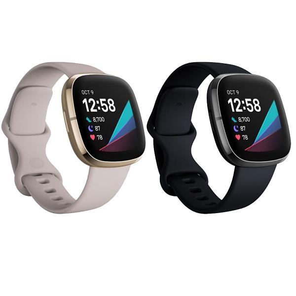母親節限時特價 3C LiFe 送Fitbit帆布袋 Fitbit Sence 進階健康智慧手錶 智能 運動手錶 公司貨