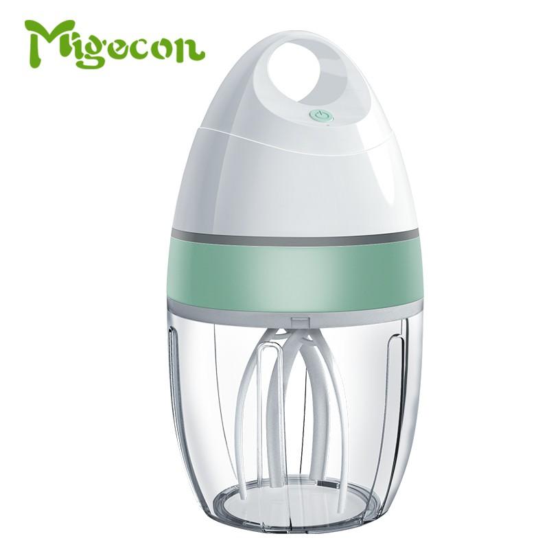 【Migecon】家用打蛋器 900ml電動打蛋器 小型烘焙打發器 奶油蛋糕攪拌器 台式打蛋機 多功能 寶寶 現貨