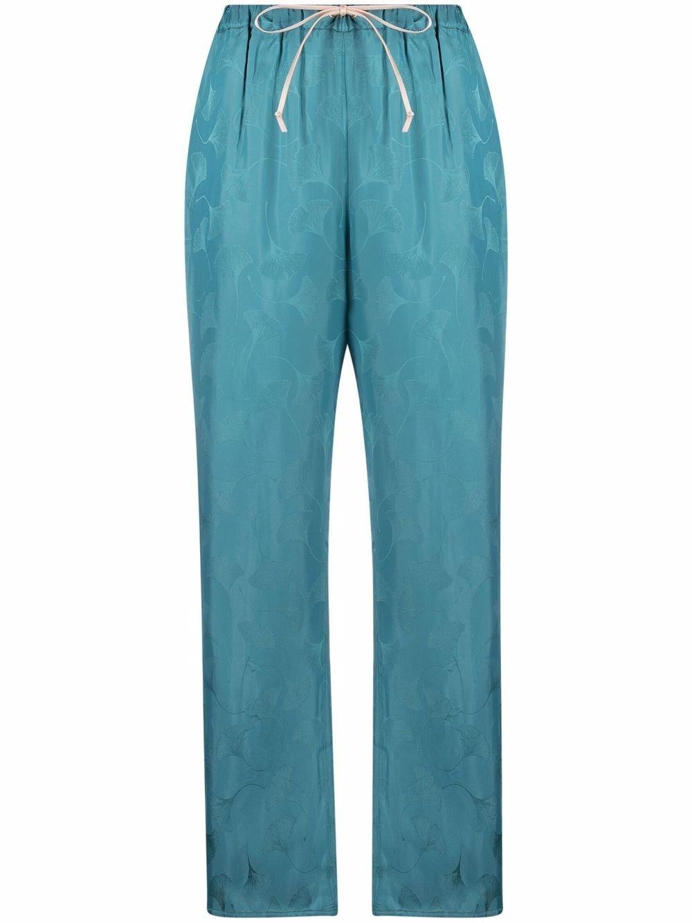 Viscose Jacquard Pants