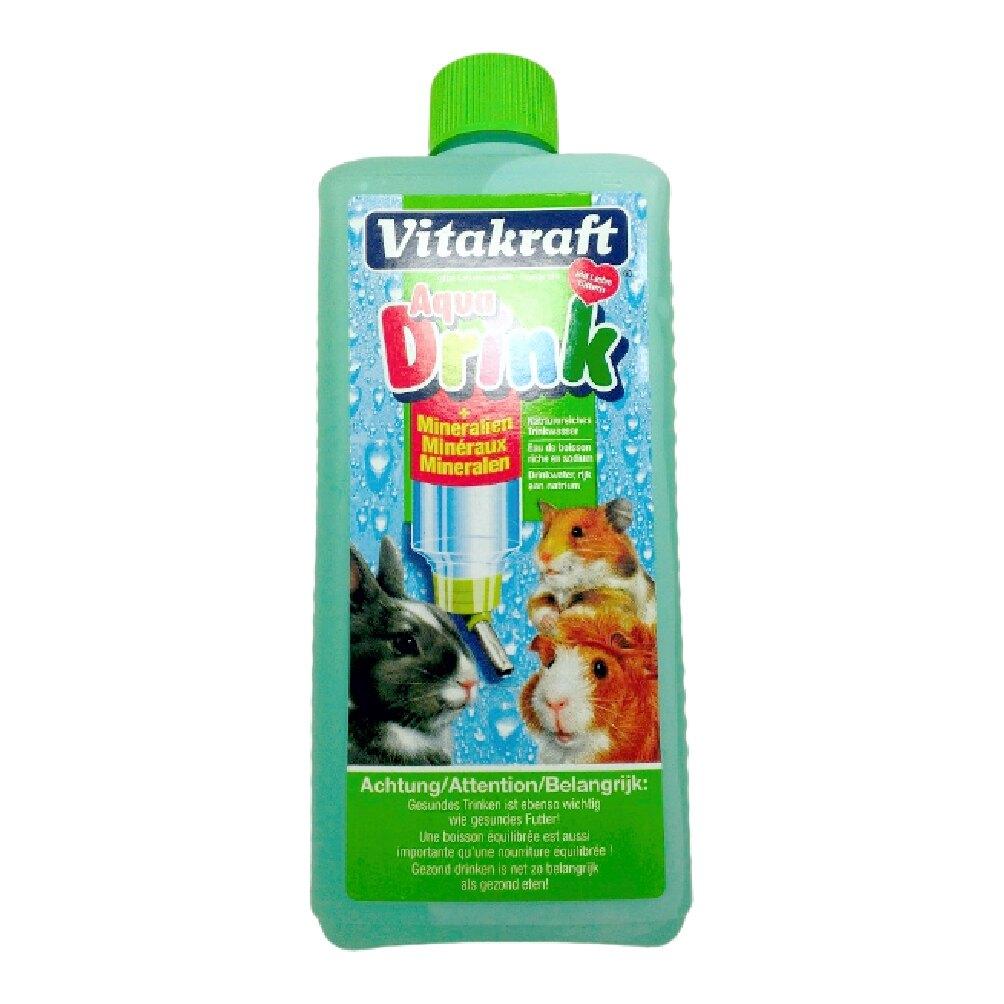 德國 VITA vitakraft-小動物健康水 適合寵物鼠、天竺鼠、兔、貂、刺蝟 500ml