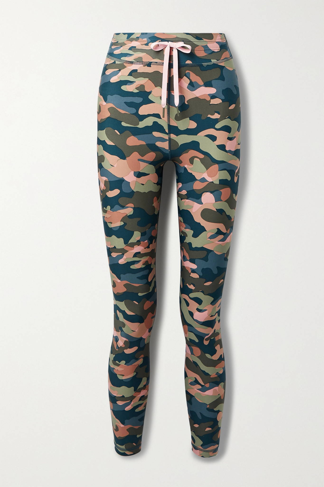 THE UPSIDE - Himalaya Camouflage-print Stretch Leggings - Green - x small