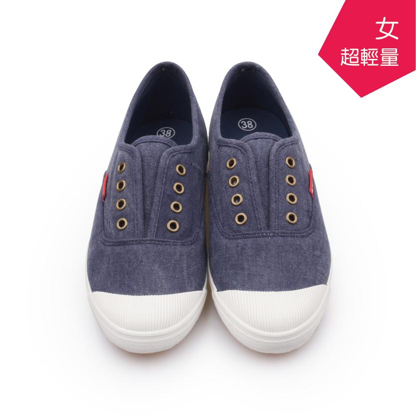 【A.MOUR 經典手工鞋】輕履系列 - 牛仔藍(6765)