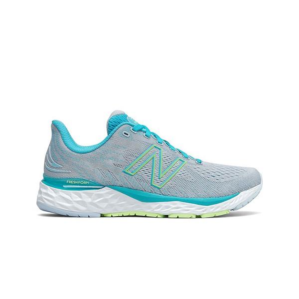 【NEW BALANCE】Fresh Foam 中底 慢跑鞋 輕量 透氣 淡灰 數碼天藍 女鞋 -W880S11D