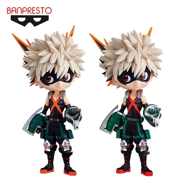 【日本正版】Q posket 爆豪勝己 公仔 模型 我的英雄學院 Banpresto 萬普 172904 172911