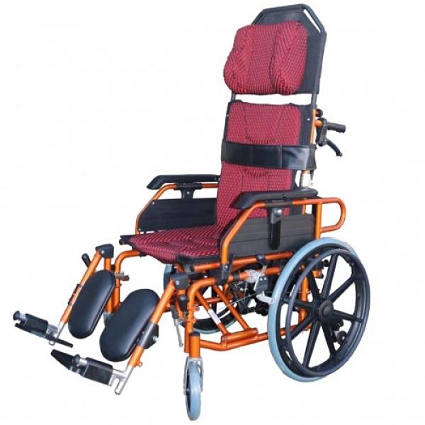 杏華 手動輪椅 躺式/鋁合金/18吋座寬(AS-1811S)