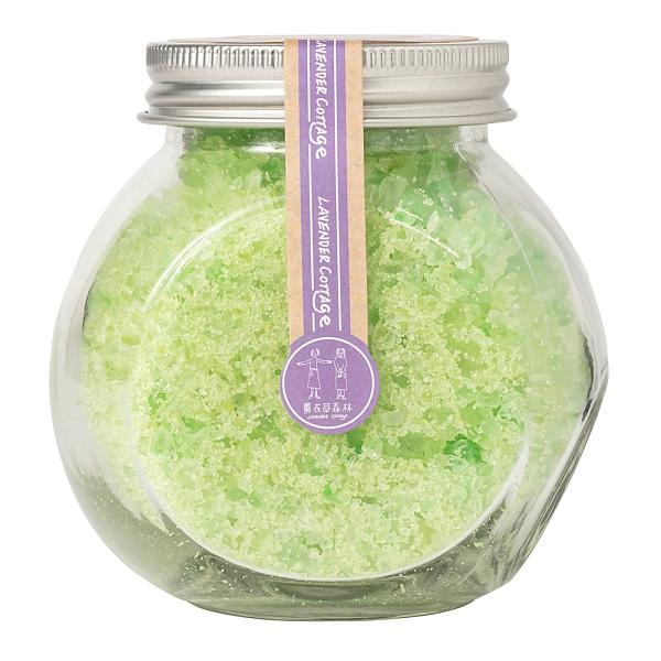 馬鞭草香氛浴鹽200g【Lavender Cottage 薰衣草森林】(森林島嶼)