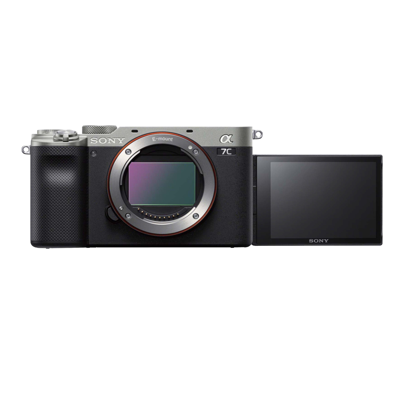 .. Sony α7C 單機身 銀色 全片幅 數位單眼相機 A7C 翻轉螢幕 防手震 ILCE-7C/S 公司貨 保固24個月