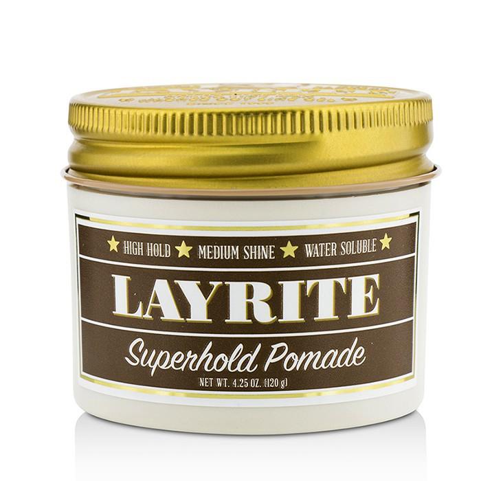 LAYRITE - 兔女郎水洗式髮油 Superhold Pomade(高保持,中等光澤,水溶性)
