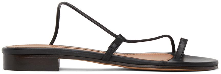 Emme Parsons 黑色 Susan Slide 凉鞋