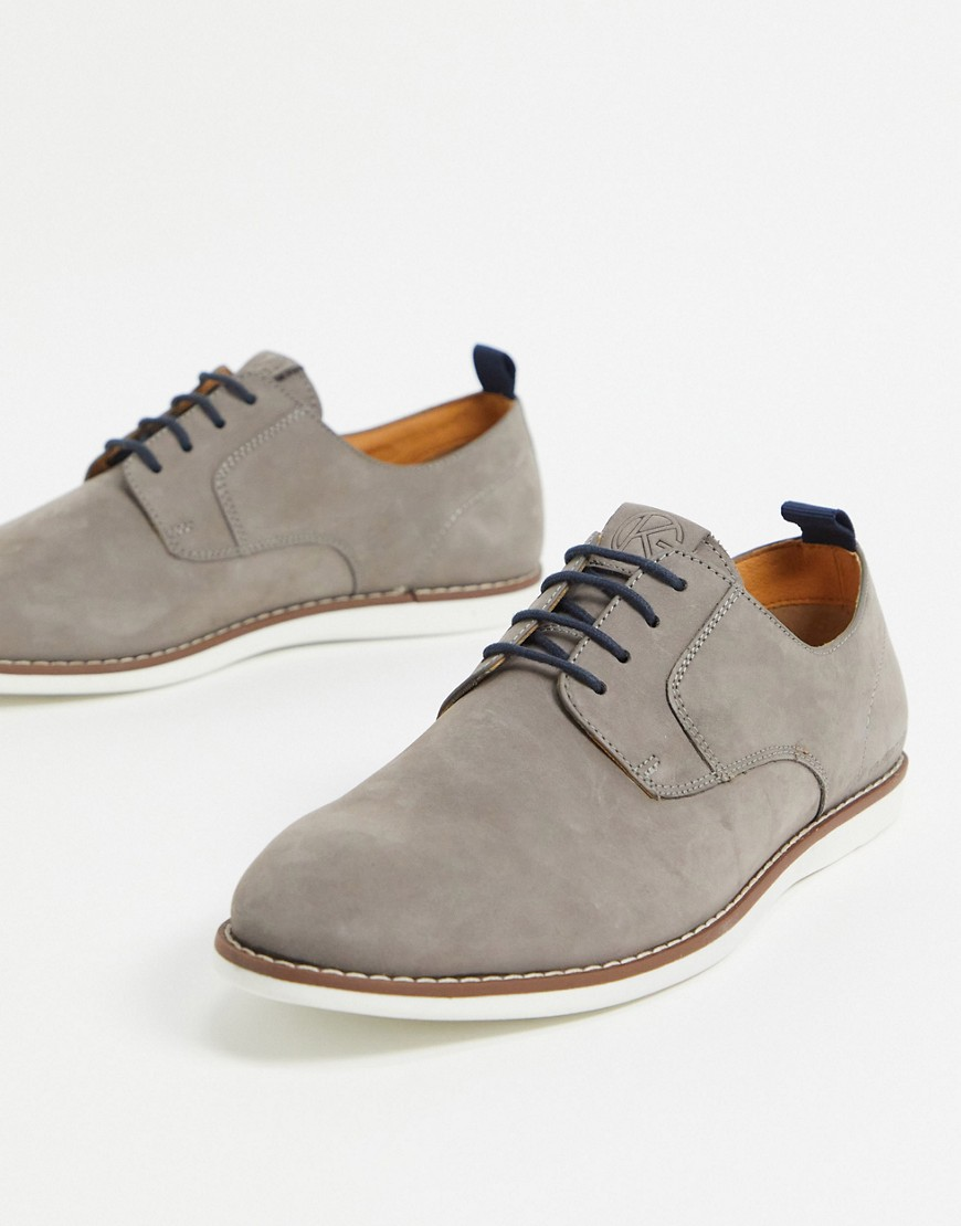 KG Kurt Geiger bryson lace up shoes in grey