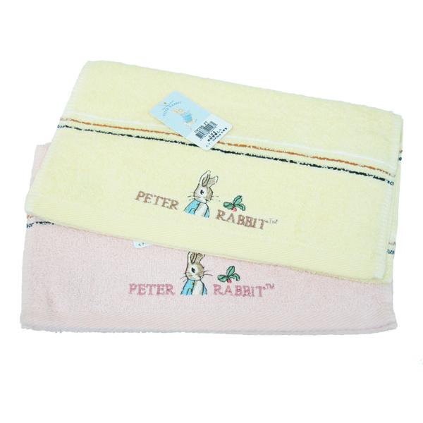 比得兔橫緞精繡童巾-PR298-KTx3入