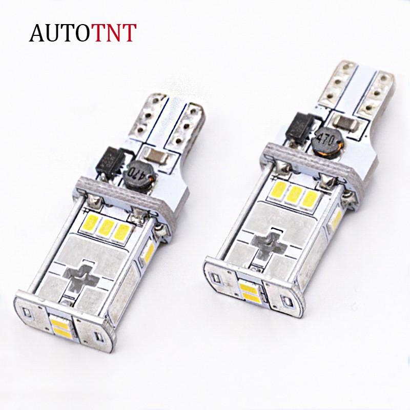 AUTOTNT T15 倒車燈 LED 汽車 倒車輔助燈 恆流 解碼 高品質 超亮 無極性 暖白色 獨家占賣