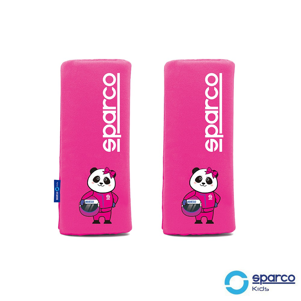 【SINYI 新翊】SPARCO兒童安全帶護套-粉紅色