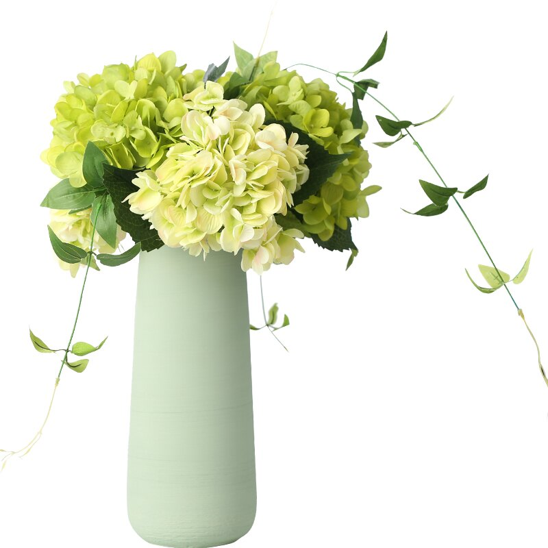 無盡夏繡球仿真花 假花插室內客廳擺設家居餐桌裝飾花藝塑料花束