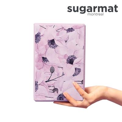 加拿大Sugarmat 頂級瑜珈磚 薰染紫Yoga Block