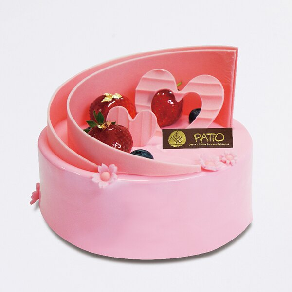 心心相印6吋【PATIO帕堤歐】造型蛋糕/生日蛋糕/卡通蛋糕
