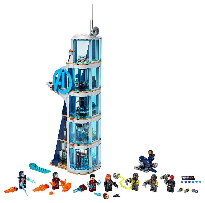 LEGO樂高 級英雄系列 Avengers Tower Battle 76166