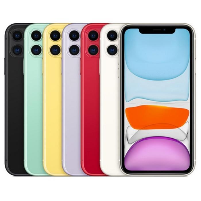 Apple iPhone 11 128G 6.1吋空機 加贈玻璃保護貼白色