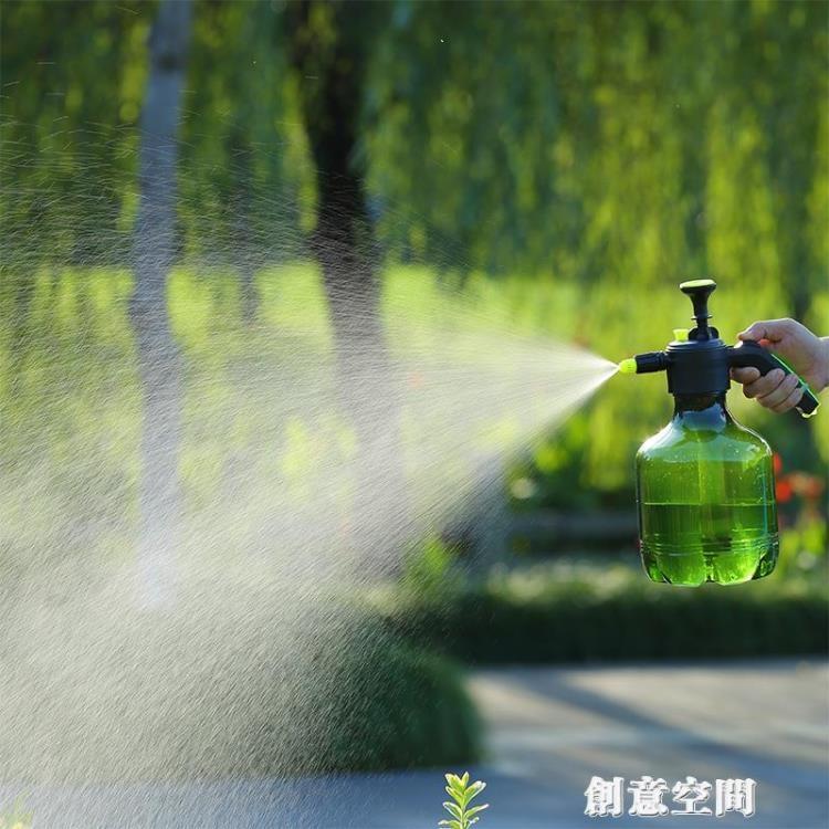 家用大號容量園藝工具噴壺 噴壺3升灑水壺澆花壺手動氣壓式噴霧器【免運】