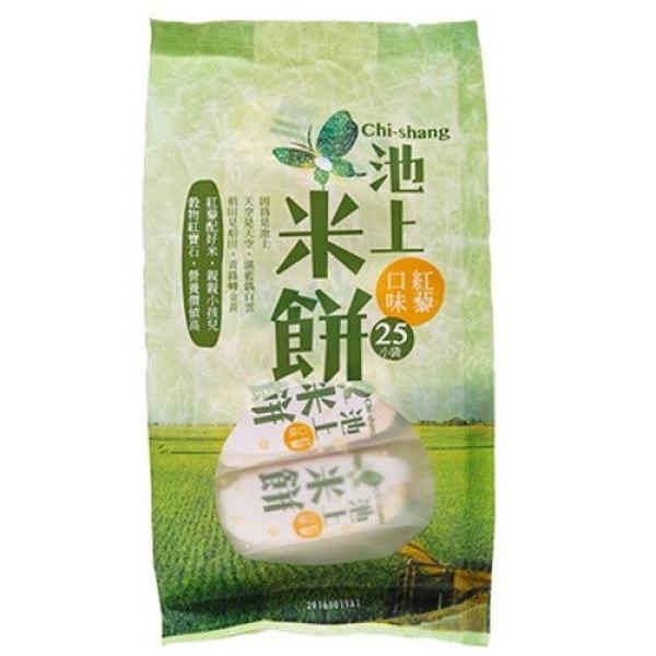 【池上農會】池上 米餅(四入) 椒鹽/ 紅藜口味
