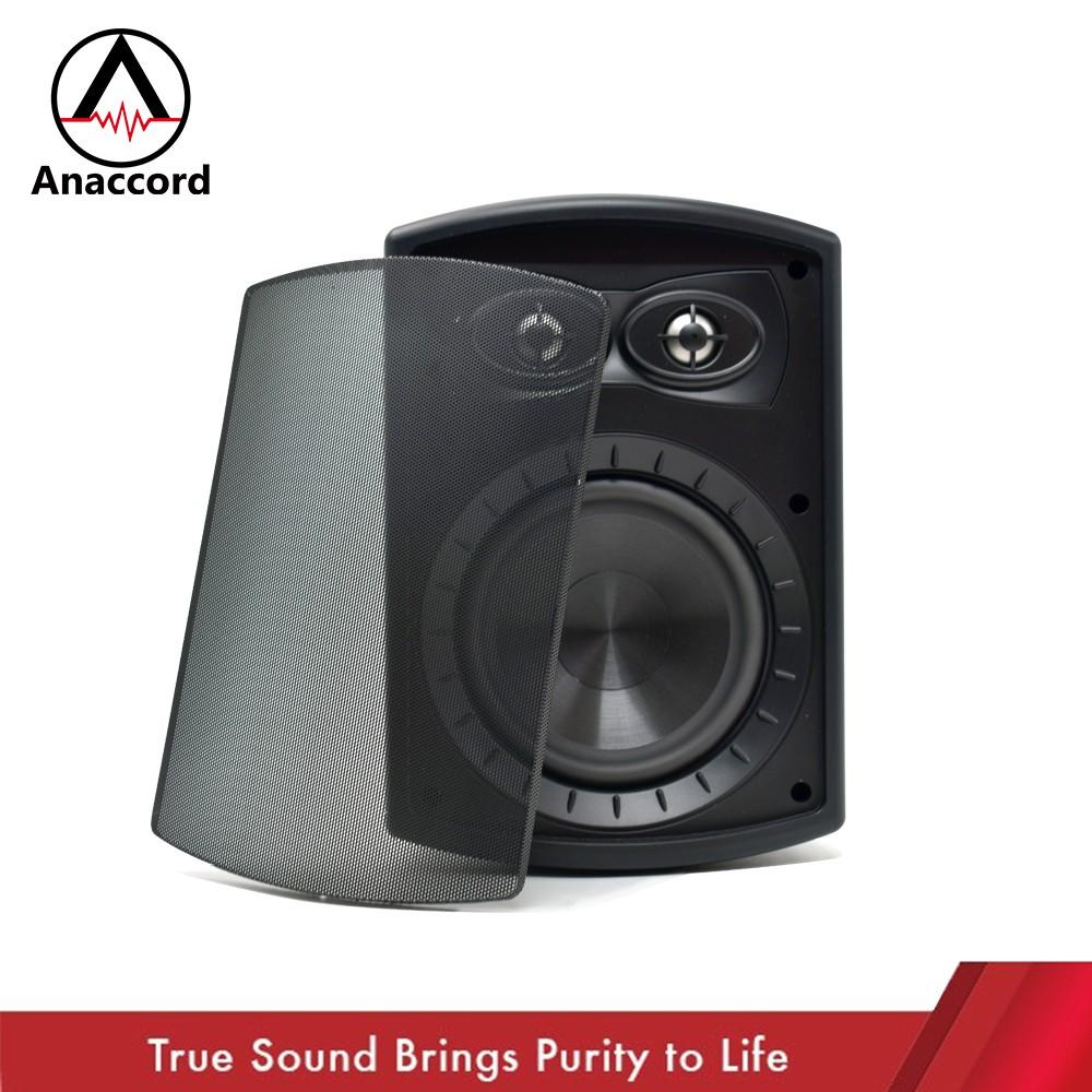 Anaccord 雅那歌音響 6吋雙高音 IP66防水系列 壁掛式音響 重低音音響喇叭 (DC-62LCR)雙高音喇叭