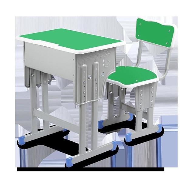 加厚中小學生課桌椅學校書桌培訓桌輔導班兒童學習桌套裝家用寫字 艾瑞斯AFT「快速出貨」