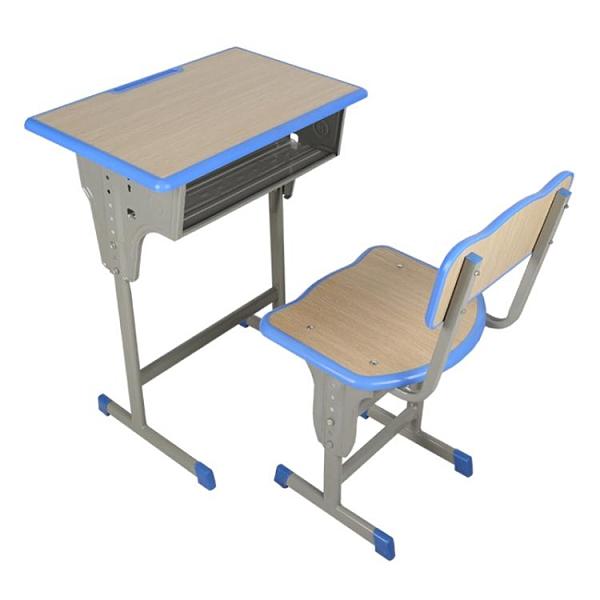 家用兒童書桌單雙人寫字桌中小學生課桌椅幼兒園輔導班加厚培訓桌 艾瑞斯AFT「快速出貨」