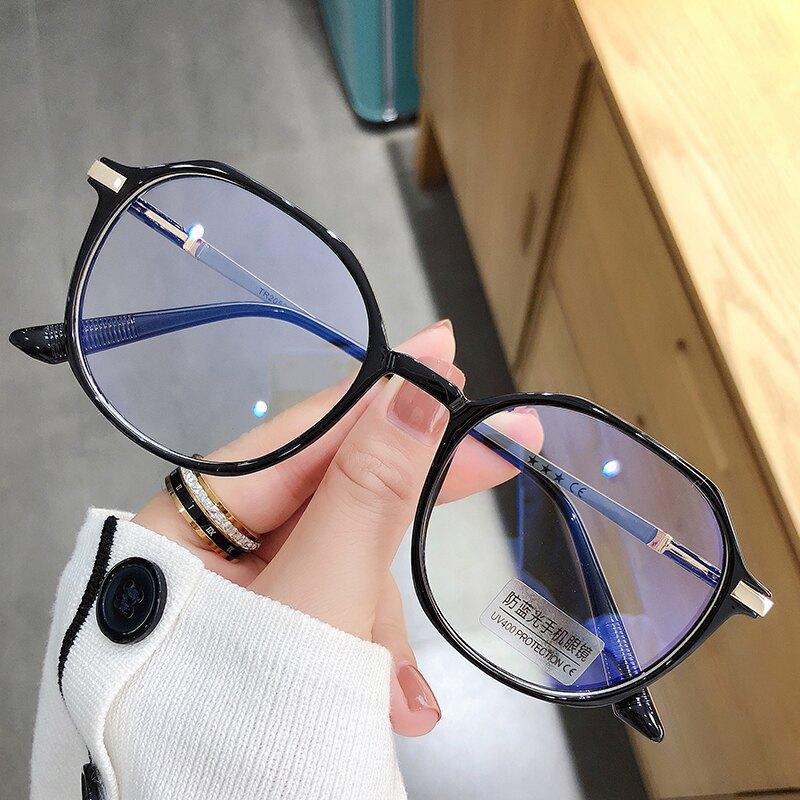 眼鏡框 空姐灰眼鏡可配鏡片韓系眼鏡框架女韓版潮平光TR網紅素顏眼睛 【韓尚優品】