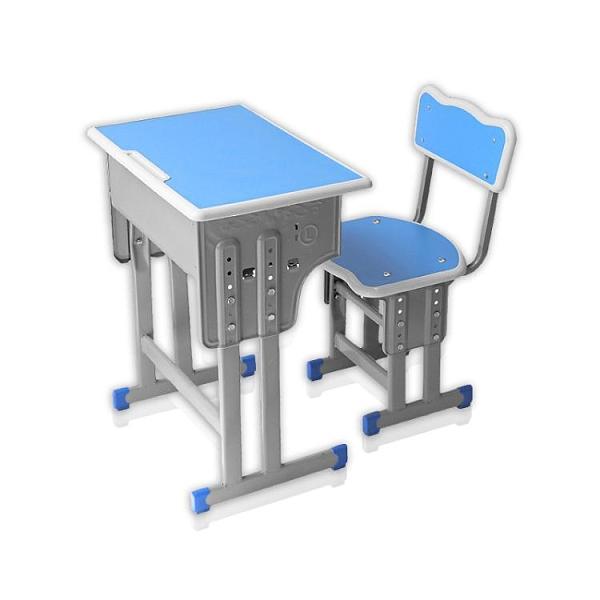 單雙人學校課桌椅中小學生輔導班培訓桌椅家用兒童學習桌廠家直銷 艾瑞斯AFT「快速出貨」