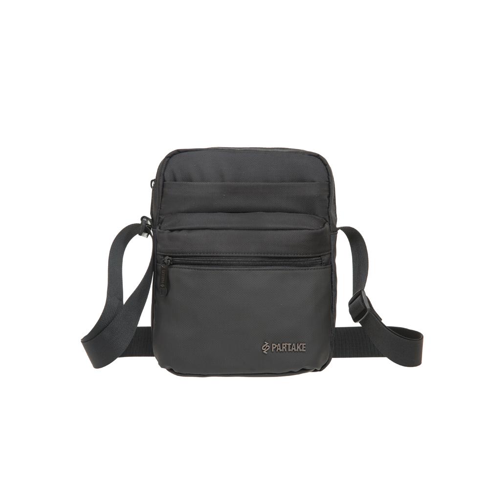【PARTAKE】E6-直式側背包-黑 PT21-E6-61BK
