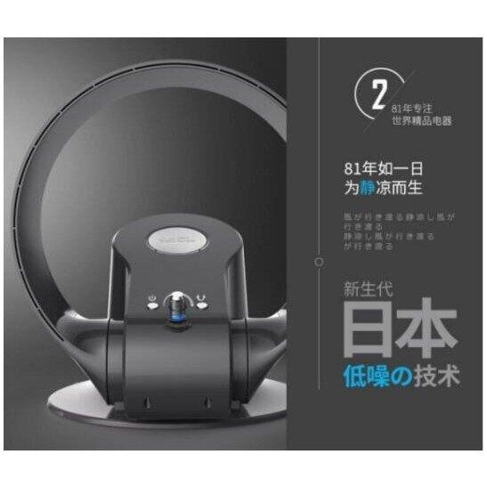 【土城現貨】-日本SK無葉風扇 110V超靜音 臺式 壁掛式 兩用 落地遙控(2色可選)