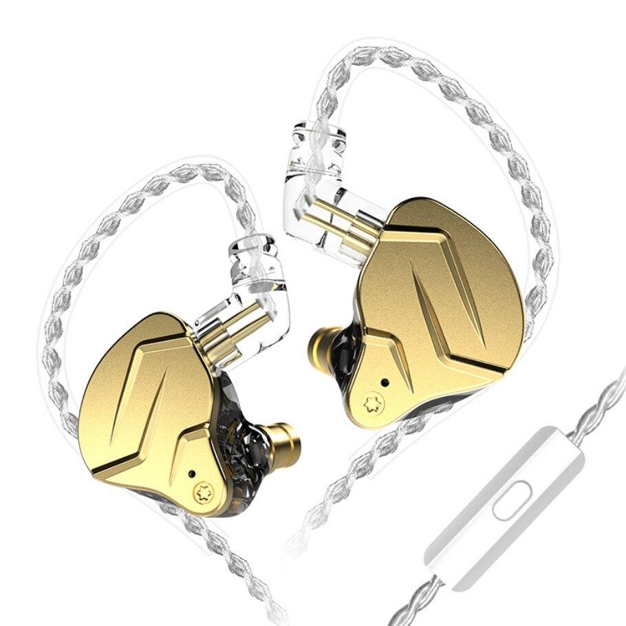 KZ ZS N PRO X 入耳式耳機 金屬 圈鐵 有線 帶麥 遊戲 吃雞 電腦用 耳塞 耳機