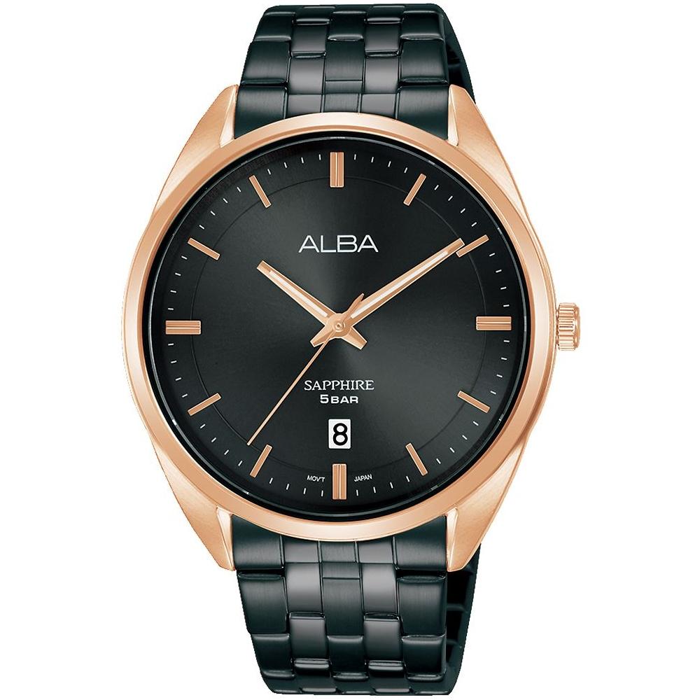 ALBA 經典黑金時尚腕錶VJ42-X303SD(AS9L04X1)