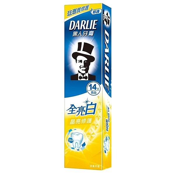 黑人牙膏 全亮白 晶亮修護 140g(4入裝)