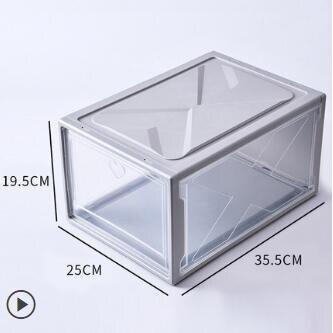 aj鞋盒收納盒球鞋防氧化鞋櫃透明鞋子收納神器省空間塑料簡易家用ATF 艾瑞斯居家生活