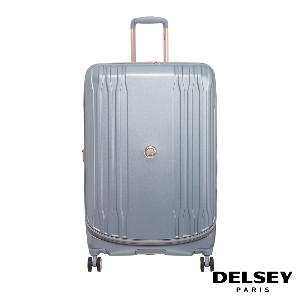 【DELSEY】法國大使 ECLIPSE DLX-29吋旅行箱-銀色 00208083011