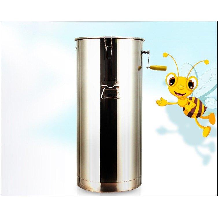 【快速出貨】不銹鋼搖蜜機 小型304不銹鋼 自動搖糖機 打糖機 蜂蜜分離機 養蜂工具/可開發票
