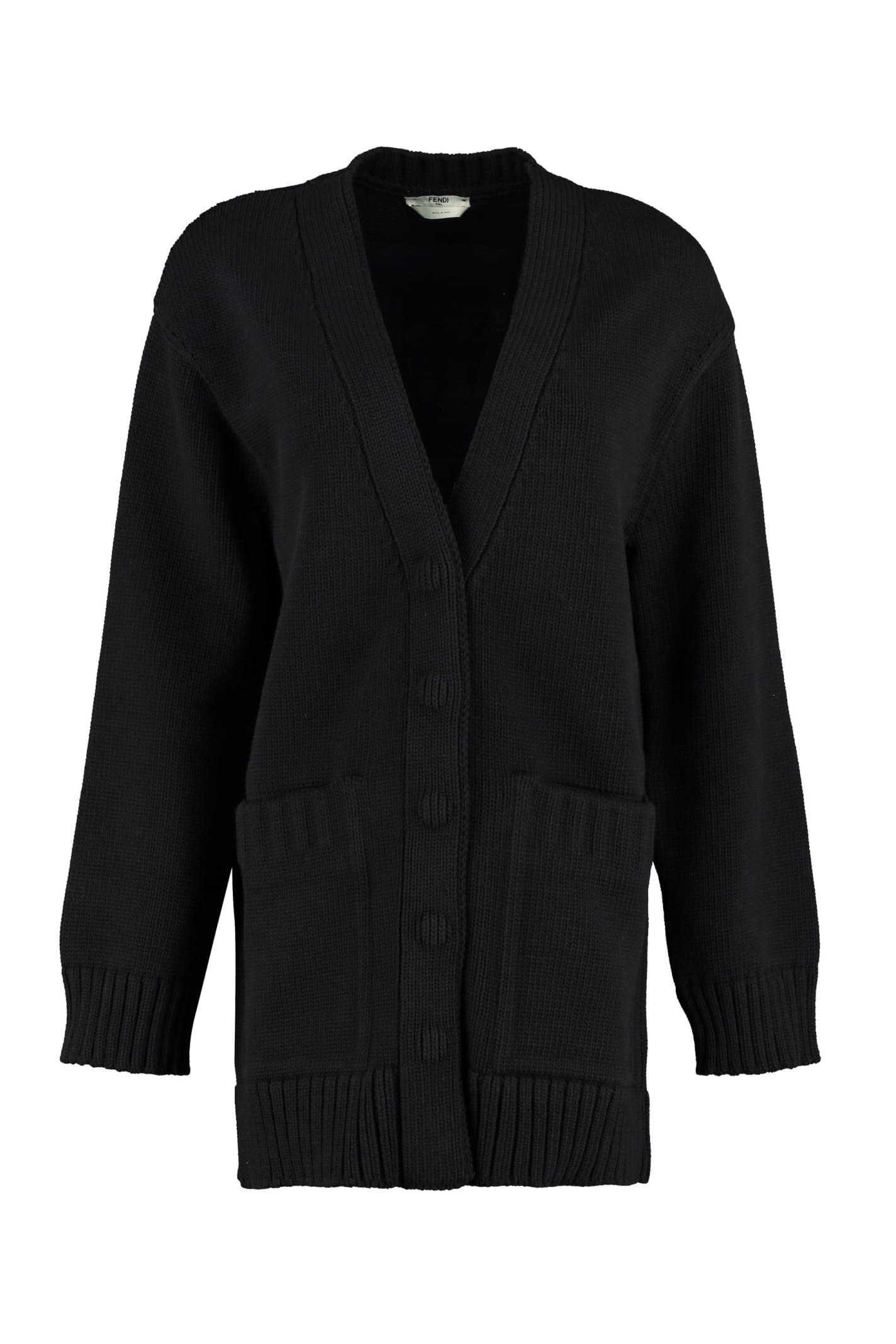 Fendi Knitted Cardigan