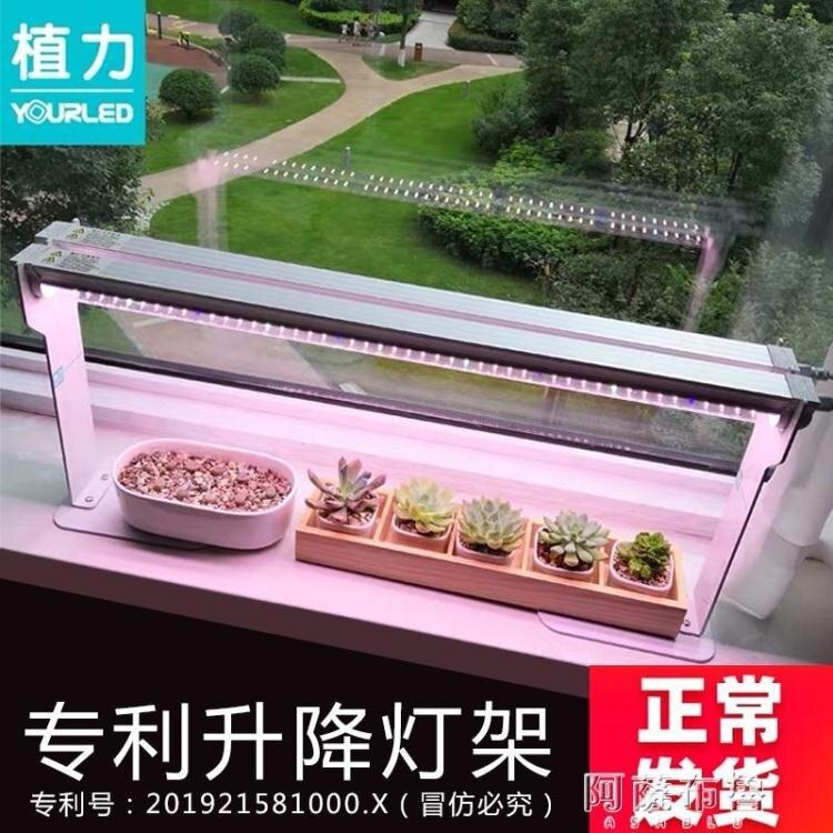 植物燈 植力 LED全光譜多肉補光燈防徒長上色植物生長光合作用家用仿太陽 【618特惠】