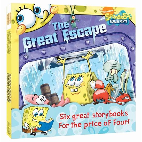 Nick Value Pack: Spongebob Squarepants 海綿寶寶 6書合輯繪本 英文繪本【歌德書店