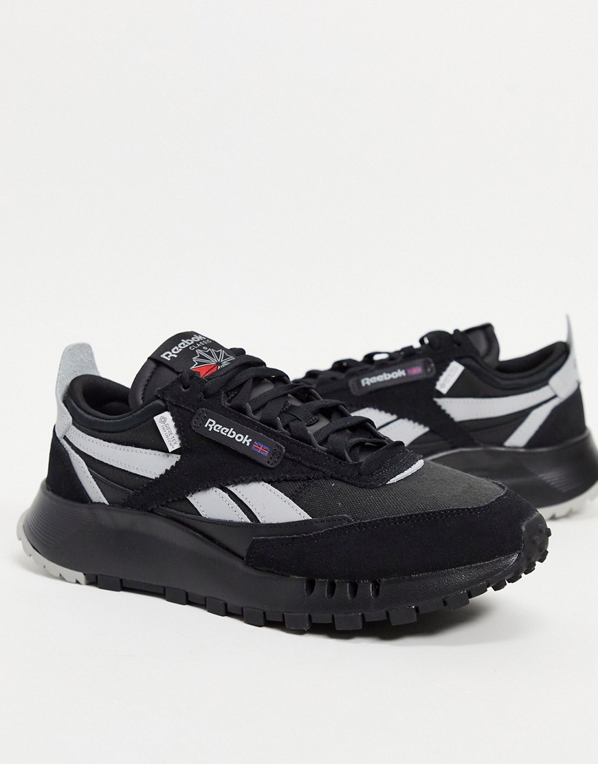 Reebok Classic Legacy Goretex trainers in black